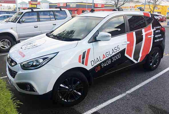 Branding - Graphics on vehicles
